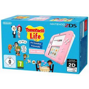Consola Nintendo 2ds rosa + Tomodachi Life (preinstalado)