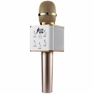 Micro Karaoke Bluetooth Icon Singer Pro Dorado