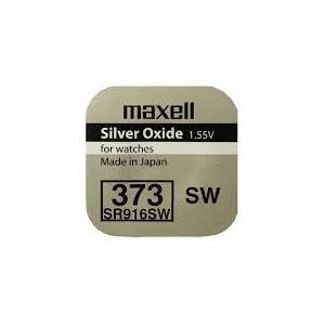 Pila de botón Maxell 373 (SR916SW)