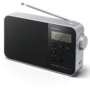 Radio portátil Sony ICFM 780SLB Negro