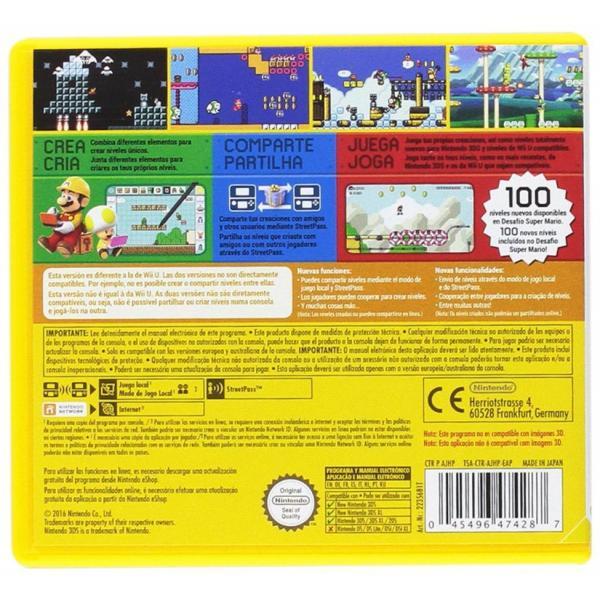 Juego Nintendo 3ds Super Mario Maker