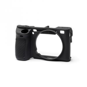 Funda silicona Easycover para Sony A6500 Negro