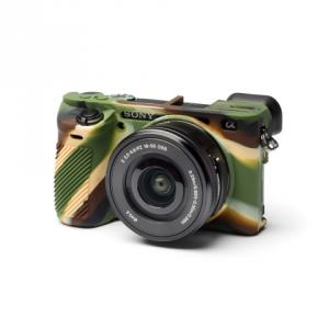 Funda silicona Easycover para Sony A6500 Camuflaje