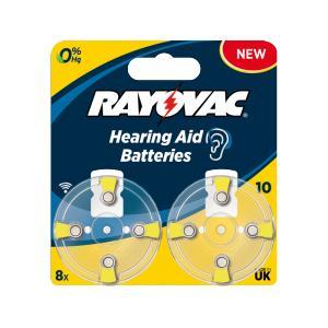 Pila para audifono Rayovac 10