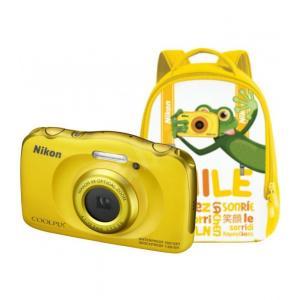 Family Kit Nikon Coolpix W100 Amarillo