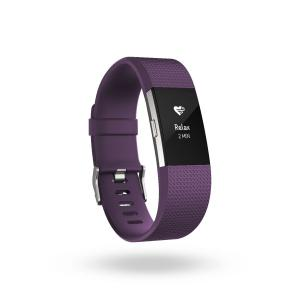 Pulsera de actividad Fitbit Charge 2 FB407 L Morada