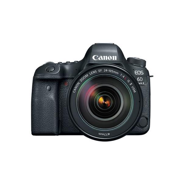 Cámaras réflex Canon EOS 6D Mark II + 24-105MM F 4 L IS II USM