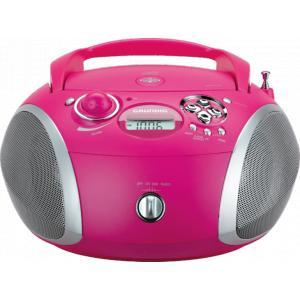 Radio CD portátil Grundig RCD 1445 Rosa