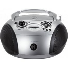 Radio CD portátil Grundig RCD 1445 Plata