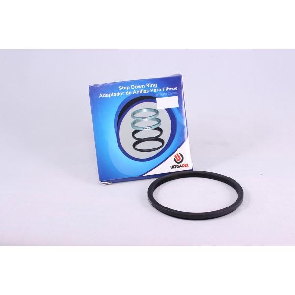 Anillo adaptador de filtros Step Down 72mm-52mm
