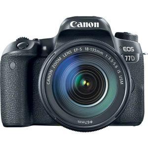 Cámara Réflex Canon EOS 77D + 18-135mm