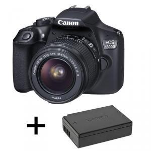Power Kit Canon EOS 1300D + 18-55mm + batería extra