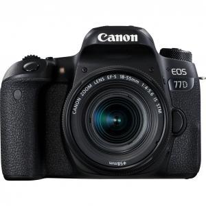 Cámara Réflex Canon EOS 77D + 18-55mm