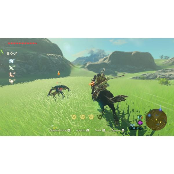 Juego Para Nintendo Switch The Legend Of Zelda Breath Of Wild