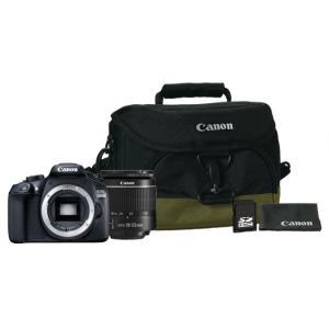 Kit de iniciación Canon EOS 1300D + 18-55mm + Funda + Tarjeta + Gamuza