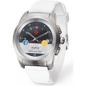 Smartwatch MyKronoz ZeTime Original Blanco y Plata