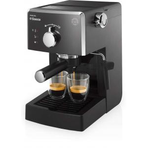 Cafetera Expresso Manual Philips Saeco Poemia HD8423 negra