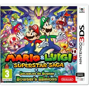 Juego Nintendo 3DS Mario & Luigi: Superstar Saga + Secuaces de Bowser