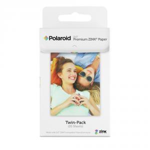 Papel fotográfico Polaroid Premium Zink Pack 20 hojas