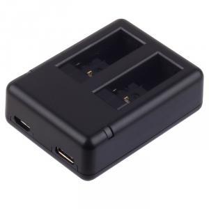 Cargador doble para batería de GoPro HERO 5/6