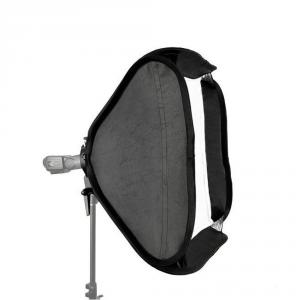 Softbox plegable para flash 50x50cm