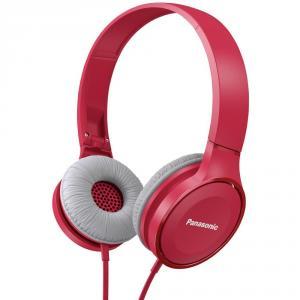 Auriculares estéreo Panasonic RP-HF100E Rosa