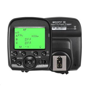Disparador inalambrico Triopo G1 Dual TTL para Canon y Nikon