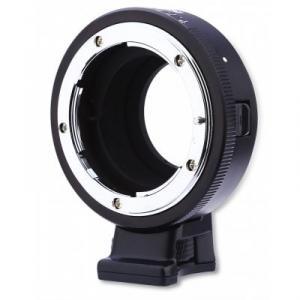 Convertidor de monturas manual Commlite CoMix para Lentes Nikon F a cámara M4/3