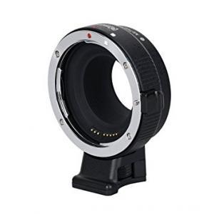 Convertidor de monturas electrónico Commlite CoMix para Lentes EF/EF-S a cámara EOSM