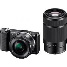 Sony Alpha ILCE-5000YB + 16-50MM + 55-210mm
