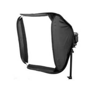 Softbox cuadrado para flash 40x40cm con montura bowens