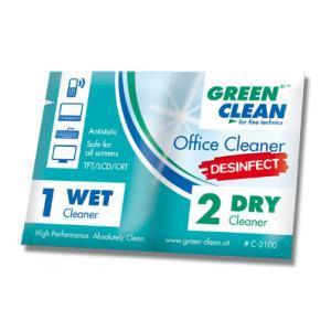 Toallitas de limpieza Green Clean para oficina C2100-10
