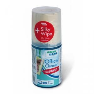 Spray de limpieza para oficina Green Clean con toallita