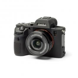 Funda de silicona Easycover para Sony A9 / A7 3 / A7R 3 Negra