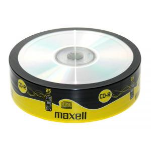 Tarrina CD-R Maxell Pack 25 unidades