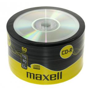 Tarrina CD-R Maxell Pack 50 unidades
