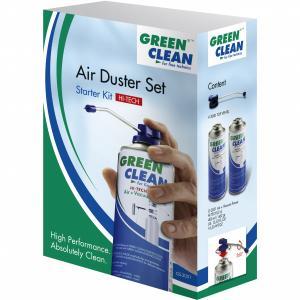 Kit de iniciación Green Clean HI-TECH aire comprimido + válvula para limpieza