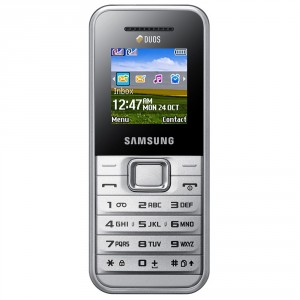 Samsung Duos GTE1182 blanco