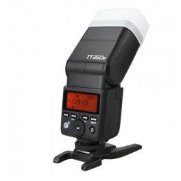 Mini Flash TTL para cámara mirrorless Godox TT350 HSS para Panasonic y Olympus