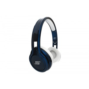 Cascos SMS Audio on ear wired azul marino