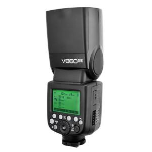 Kit Flash compacto Godox Ving V860II TTL HSS + batería y cargador para Sony