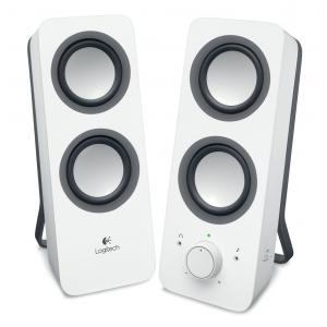 Altavoces para PC estéreo Logitech Z200 Blanco