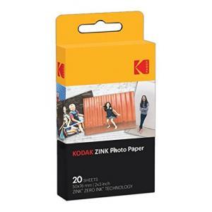Papel fotográfico Kodak Zinc 20 hojas 50x76mm