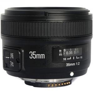 Objetivo Yongnuo 35mm F2 para Nikon