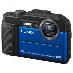 Cámara Compacta Acuática Panasonic Lumix DC-FT7 Azul