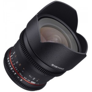 Samyang 10mm T3.1 ED AS NCS CS-VDSLR para Nikon