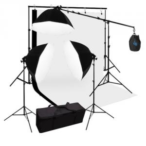 Kit de fotografía para estudio UPFK-PKBG04