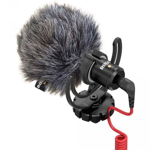 Micrófono direccional compacto para cámaras Rode VideoMicro