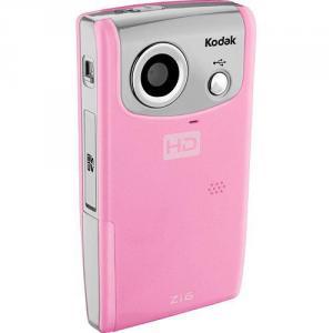 Videocámara de bolsillo Kodak Zi6 rosa