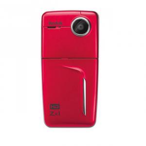 Videocámara de bolsillo Kodak Zx1 Roja